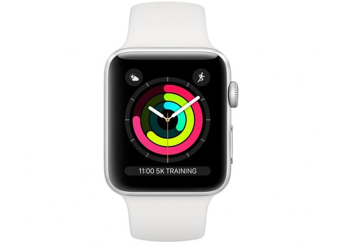 Apple Watch Series 3 38 mm серебристый