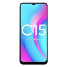 Realme C15 64 ГБ серебристый